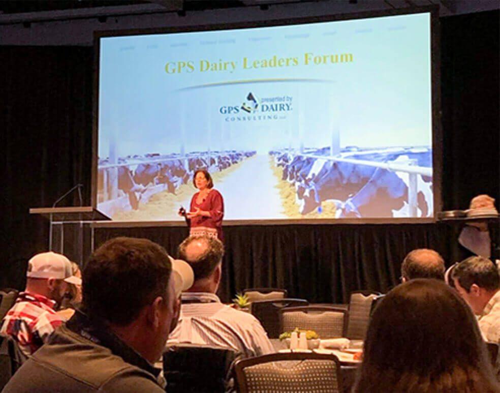 Speaker at Leaders Forum