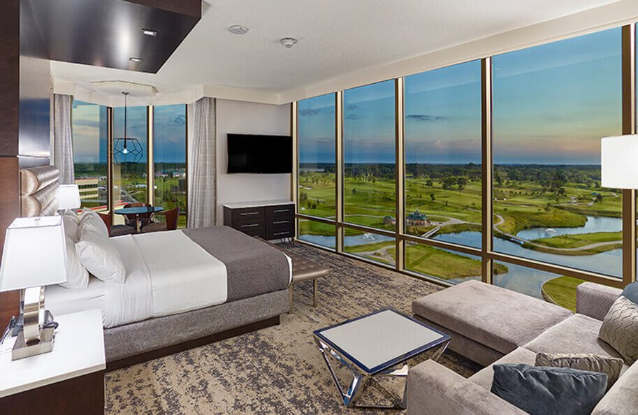 Mystic Lake Casino Room with a View