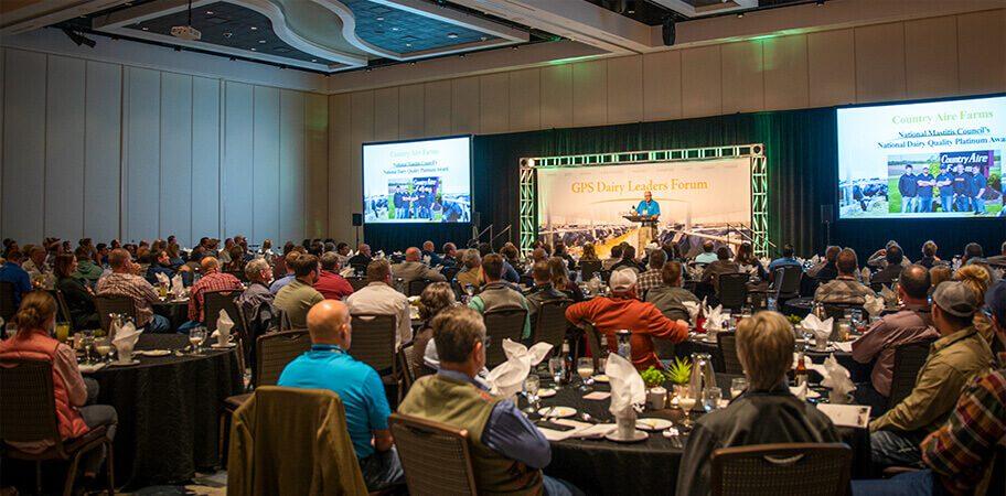 GPS Dairy Leaders Forum Crowd